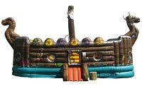 Springkasteel huren bij Jan Bogaerts in België - Piratenschip springkasteel